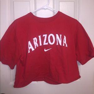 Nike Arizona crop top